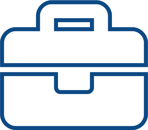Briefcase icon representing the business attorney and business matters page for RandsLaw